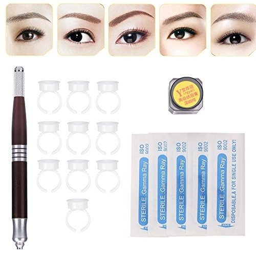 Microblading Permanent Kit 3d Eyebrow Tattoo Manual Makeup