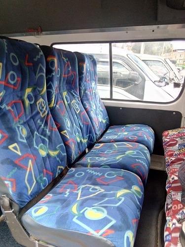 microbus  16 pasajeros exelente estado documentos al día lis