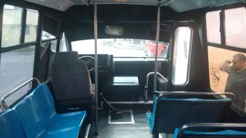 microbus 2007 chevrolet prisma 23 pasajeros factura baja