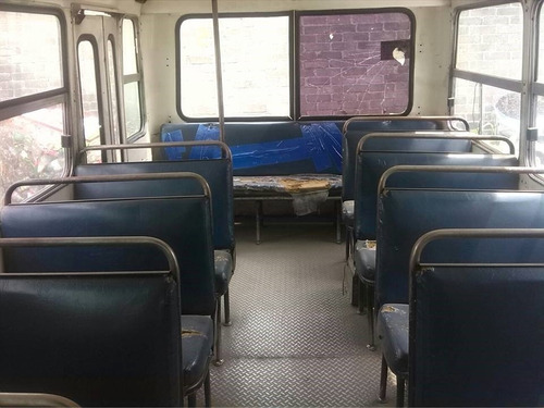 microbus chevrolet 2000 a gas 23 asientos