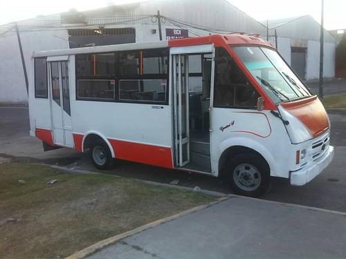 microbus chevrolet 2004 cafer 23 asientos cualquier prueba