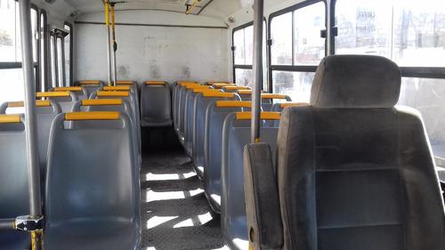 microbus chevrolet 2007 carrocería vanetesa vortec -a tratar