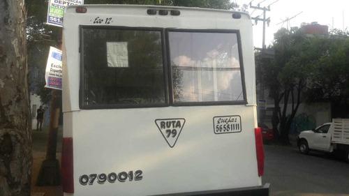 microbus chevrolet mod 1997