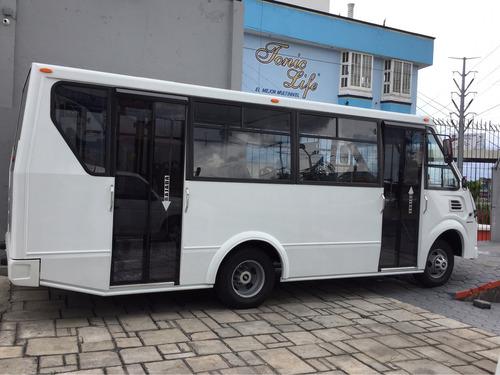 microbus chevrolet tipo cafer 27 pasajeros 2018