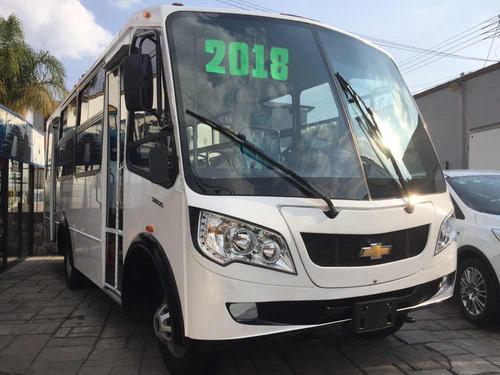 microbus chevrolet tipo volks de 25 pasajeros 2018