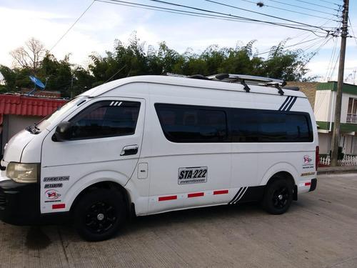 microbus de oportunidad jinbei excelente estado diesel publi