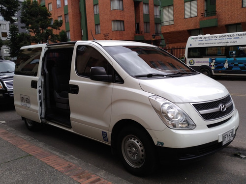 microbus hyundai h1, 2011 excelente