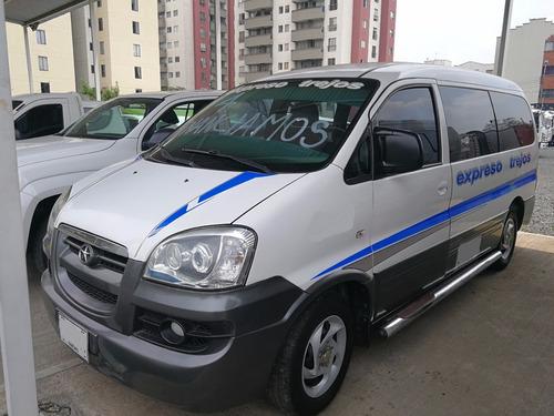 microbus jac refine 2014 intermunicipal con trabajo