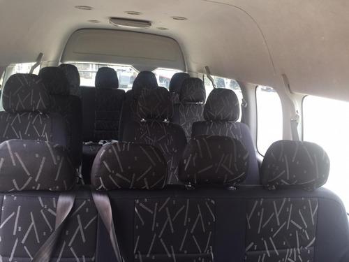 microbus jinbei unico dueño mantenimientos al dia