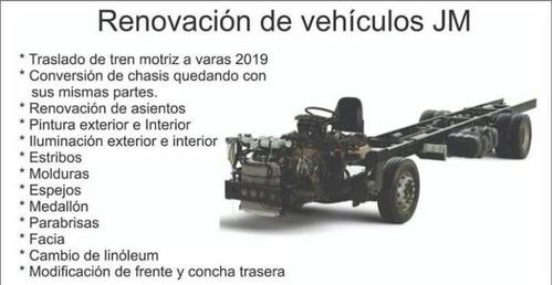 microbus mr.renova,minibus,autobus y tracto camion