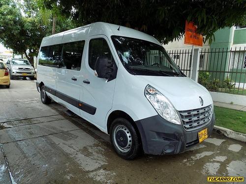 microbus nuevo master 2015