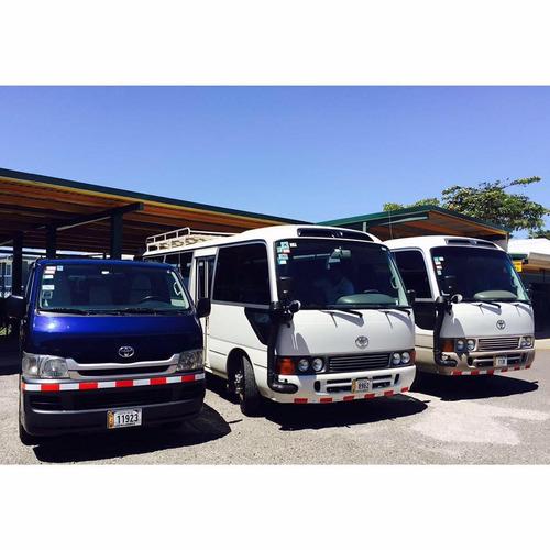 microbusesde catorce y veintiocho  pasajeros