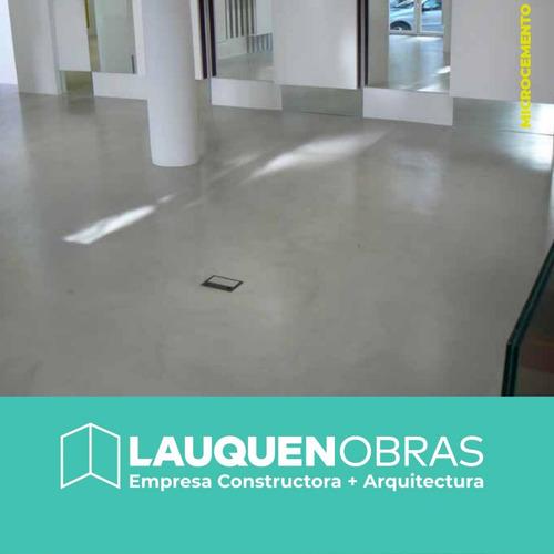 microcemento alisado en pisos, paredes, escaleras  lanus