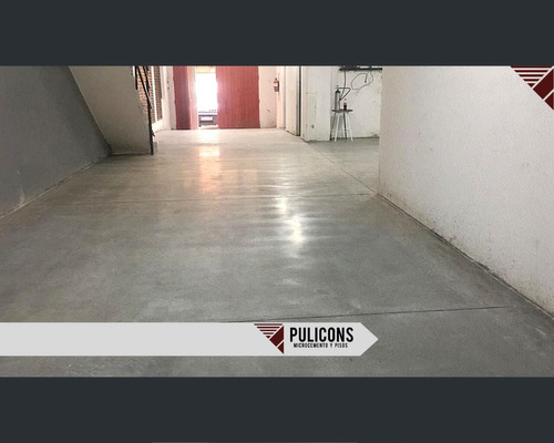 microcemento alisado pisos