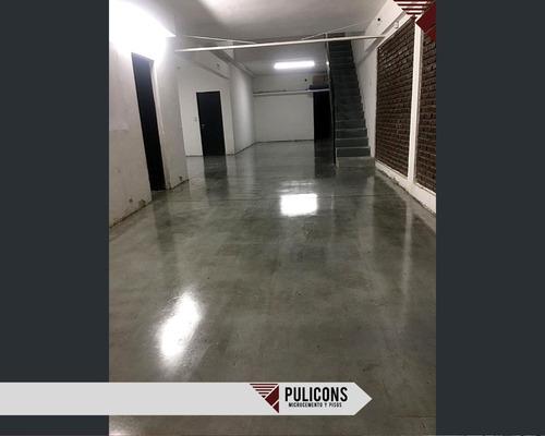microcemento alisado y pulido de pisos x mt2
