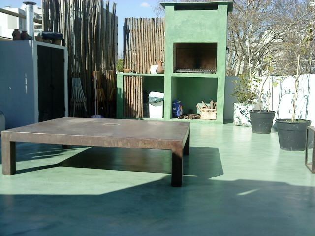 Microcemento cemento alisado materiales y mano de obra - Precio microcemento m2 ...