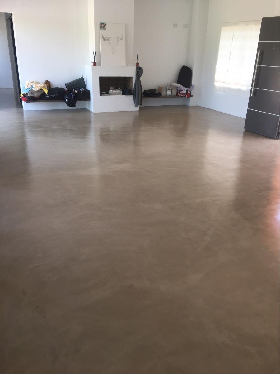 Microcemento cemento alisado micropiso 450 00 en - Precio microcemento m2 ...