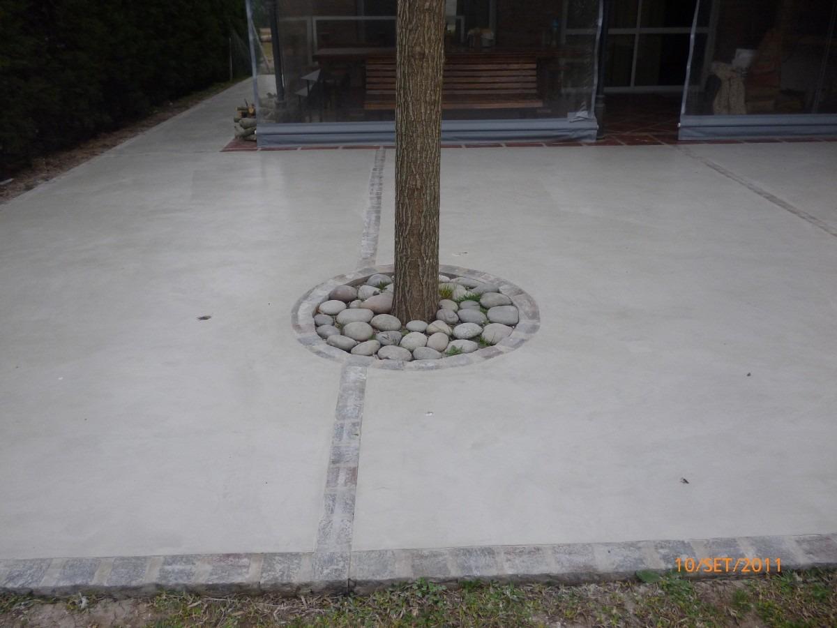 Microcemento cemento alisado micropiso 420 00 en - Como aplicar microcemento ...