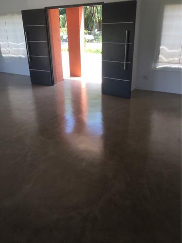 microcemento-cemento alisado- micropiso-colocación