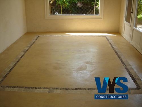 microcemento - cemento alisado - micropisos - pisos - pared