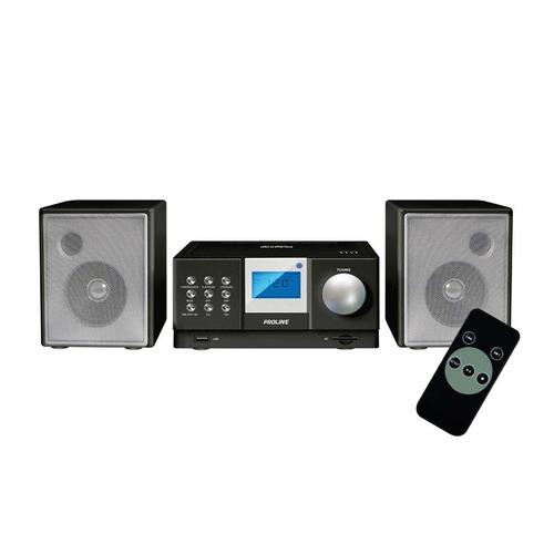 microcomponente proline pr90-mr cd usb sd radio fm mp3 aux