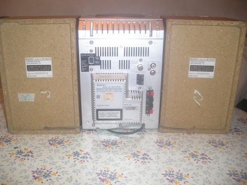 microcomponente sony cmt-ep414 ideal para tu pc, celu, iphon