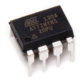 Microcontrolador Attiny85 20pu Compatible Con Arduino Uno
