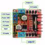 L298n Dual H Bridge Dc Stepper Motor Arduino Pic Avr