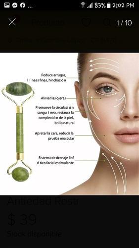 microdermoabrasion punta dia+ cepillo facial + rodillo jade
