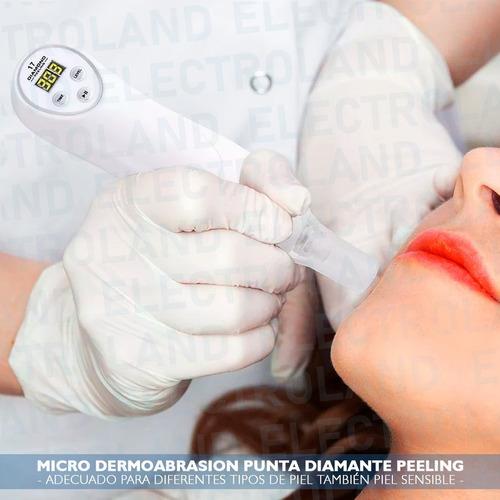 microdermoabrasion punta diamante peeling puntos negros rec