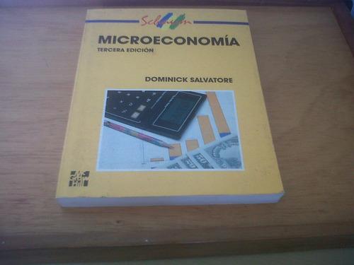 microeconomía / dominick salvatore