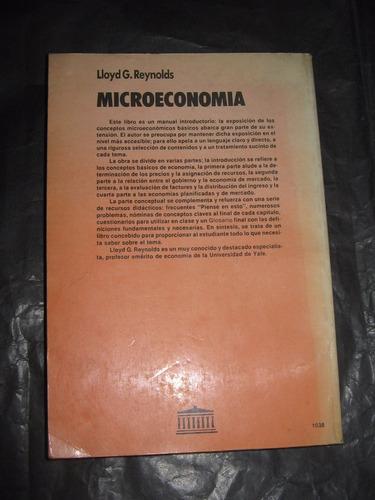 microeconomia - lloyd g. reynolds