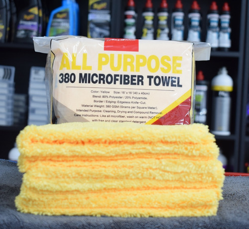 microfibra premium 40 x 40 cm ideal pastas y selladores