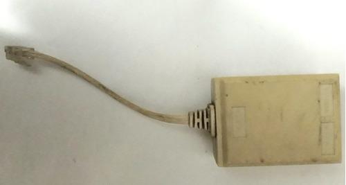 microfiltro adsl-splitter para modems y líneas telefónicas