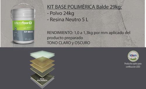 microfloor kit base polimérica
