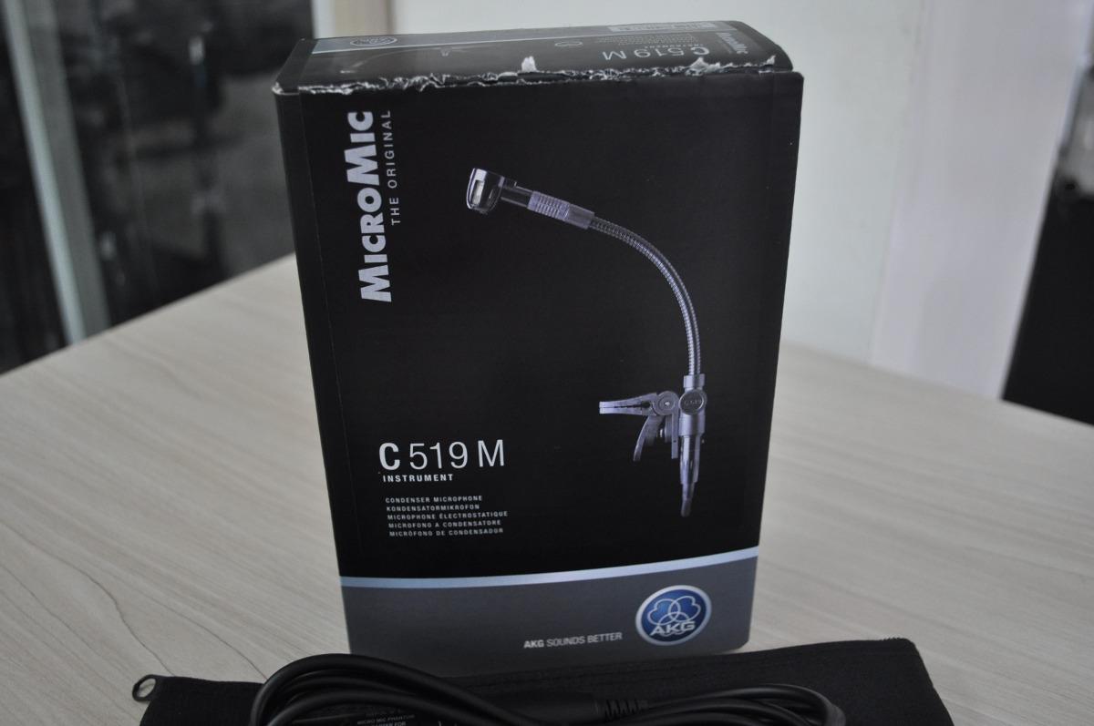 Microfone Akg C 519m P Instrumentos De Sopro E Percusso R 1032 C519m Mic Saxophone Carregando Zoom