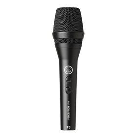 Microfone Akg P3 S Cardióide Preto