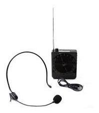 microfone amplificador professor palestras orador mp3 rádio