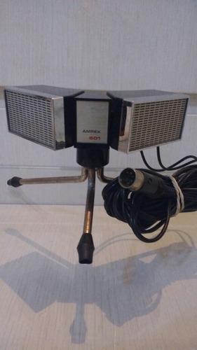 microfone antigo 1960 , lindo ! promoção !