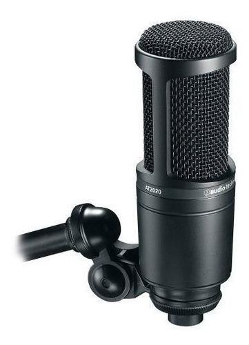 microfone audio technica at2020 original - promoção!