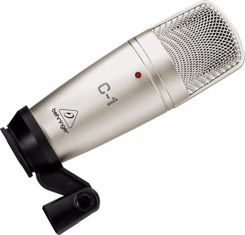 microfone behringer condensador