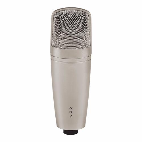 microfone behringer profissional condensador c-1u c/ usb