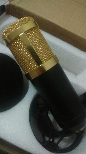microfone bm800 (com equipamentos) + brinde