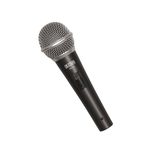 microfone c/ fio de mão dinâmico - pro 1 0 csr