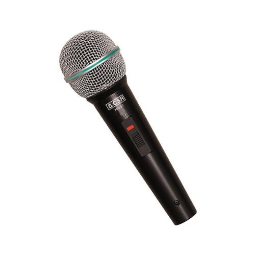 microfone c/ fio de mão dinâmico - pro 2.1 csr