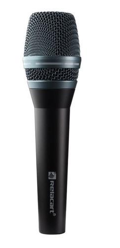 microfone c/ fio voxtron vox sm 300 n neodimio profissional