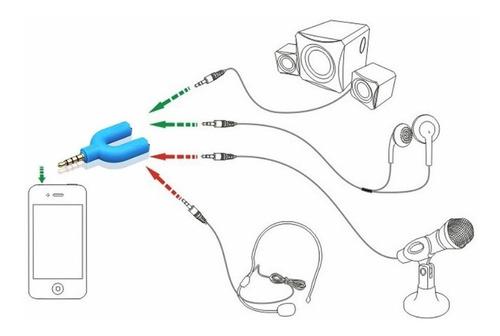 microfone celular + adaptador p3 / p2 youtubers frete r$20