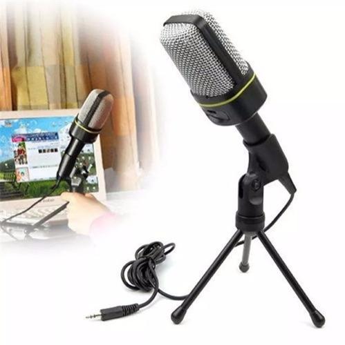 microfone com fio condensador sf-920 estudio pc cabo xlr