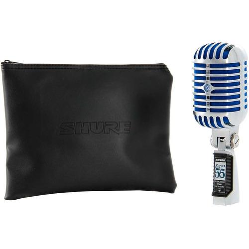 microfone com fio de mão dinâmico super 55 deluxe  -  oferta