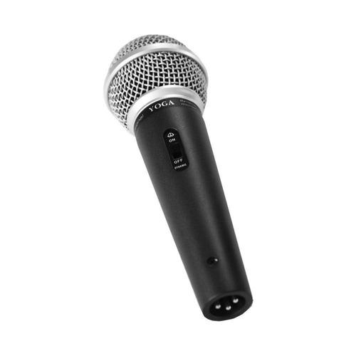 microfone com fio de mão para vocal - dm 58 s